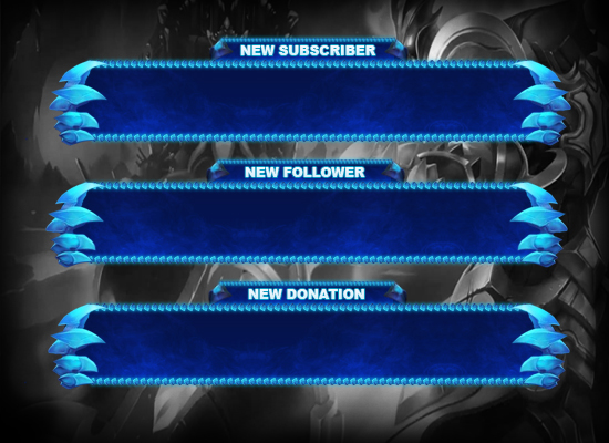 how to add follower and donattion alerts to my stream