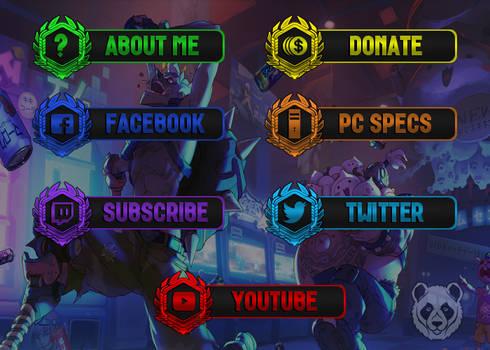 [FREE] Overwatch - Twitch Panels