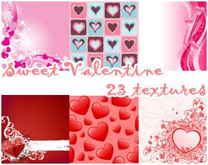Sweet Valetine Textures by Keoni-chan