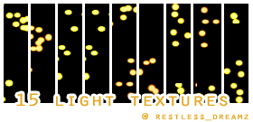 15 light textures by Keoni-chan
