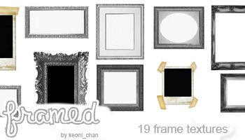 Textures : 19 Photo Frames