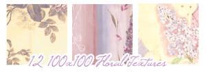 Floral textures:100x100