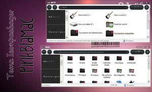 Tema Iconpackager PinkBlaMac. by WowisMel