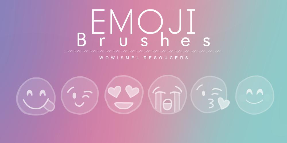 Emoji Brushes by WowisMel