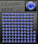 classic blue iconset