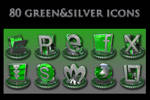 green and silver collection