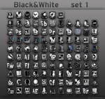 Black and White     set 1