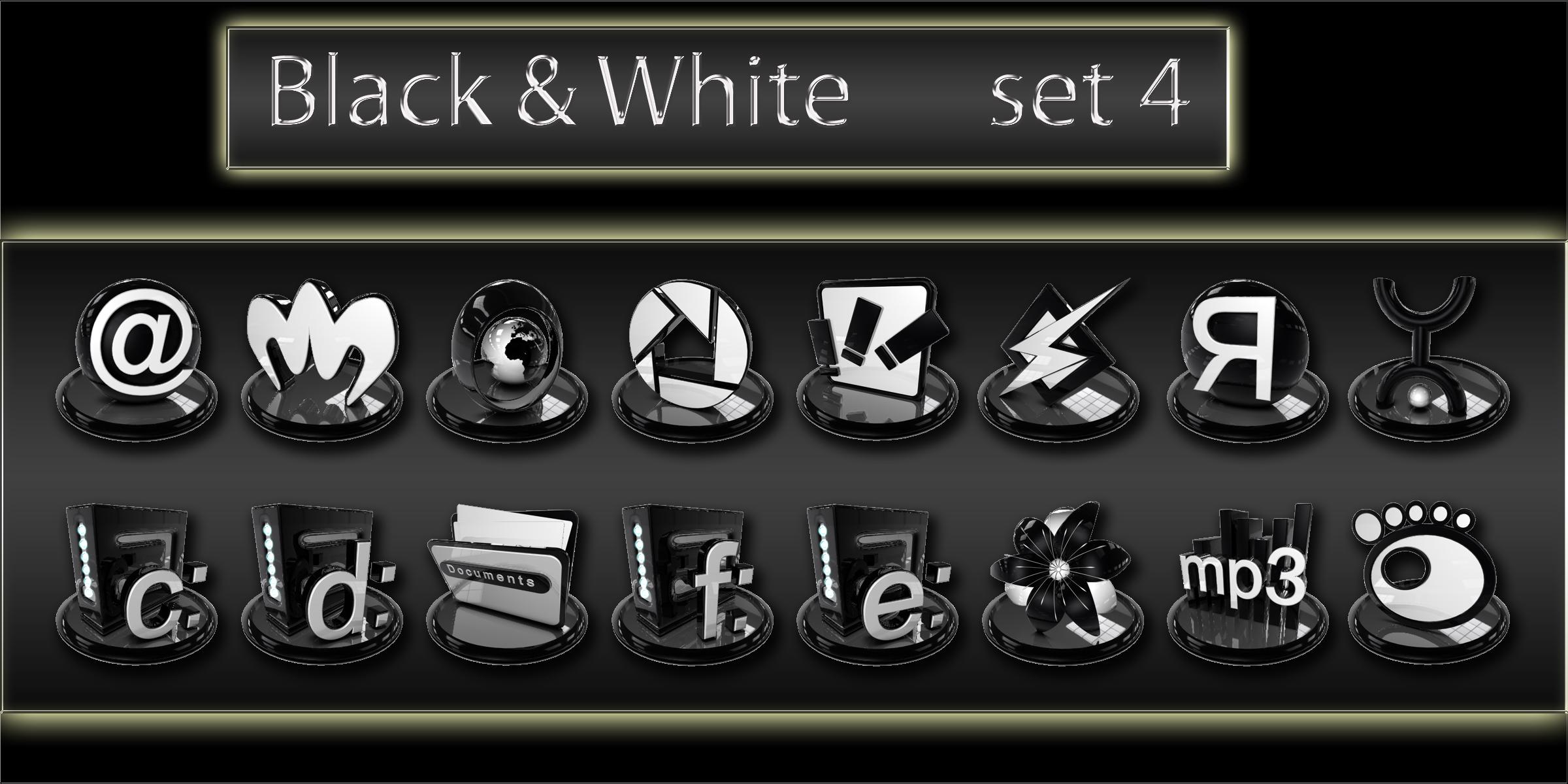 black and white icons set4 by xylomon on DeviantArt