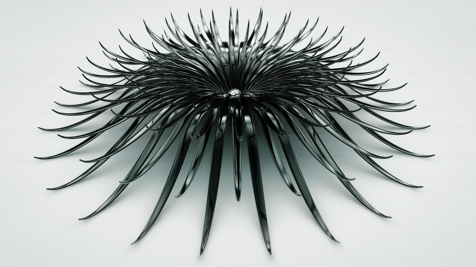 black flower by xylomon