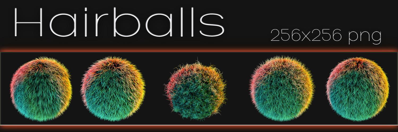 Hairballs by xylomon