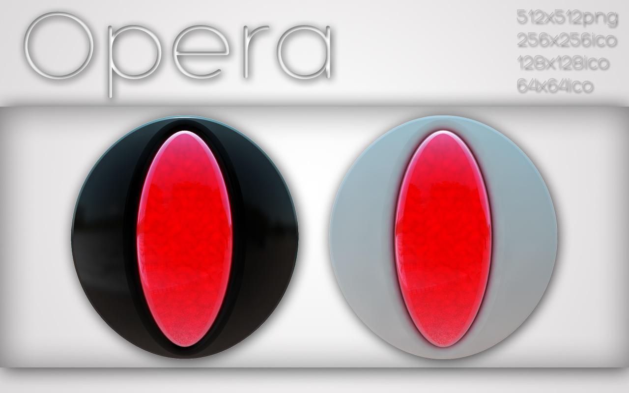 Opera black and white by xylomon
