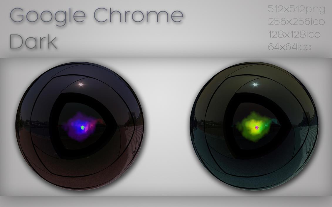 Google Chrome dark by xylomon
