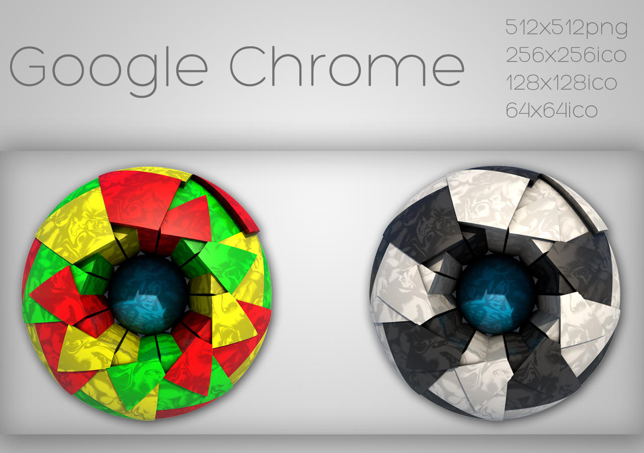 Google Chrome Mosaic by xylomon