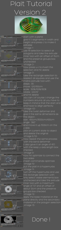 plait tutorial version 2 by xylomon