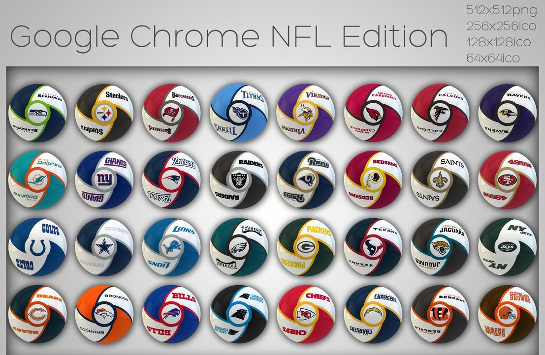 Google Chrome NFL Edition by xylomon