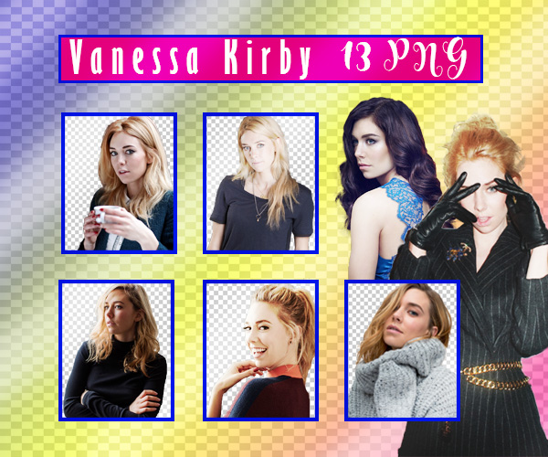 Vanessa Kirby PNG Pack by sarii016