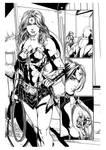 JusticeLeague36pg14 Wonder Woman new look