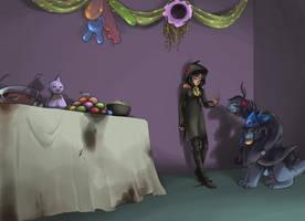 PGO Halloween mini event game by Erupan