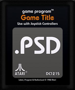 Atari 2600 Cartridge PSD