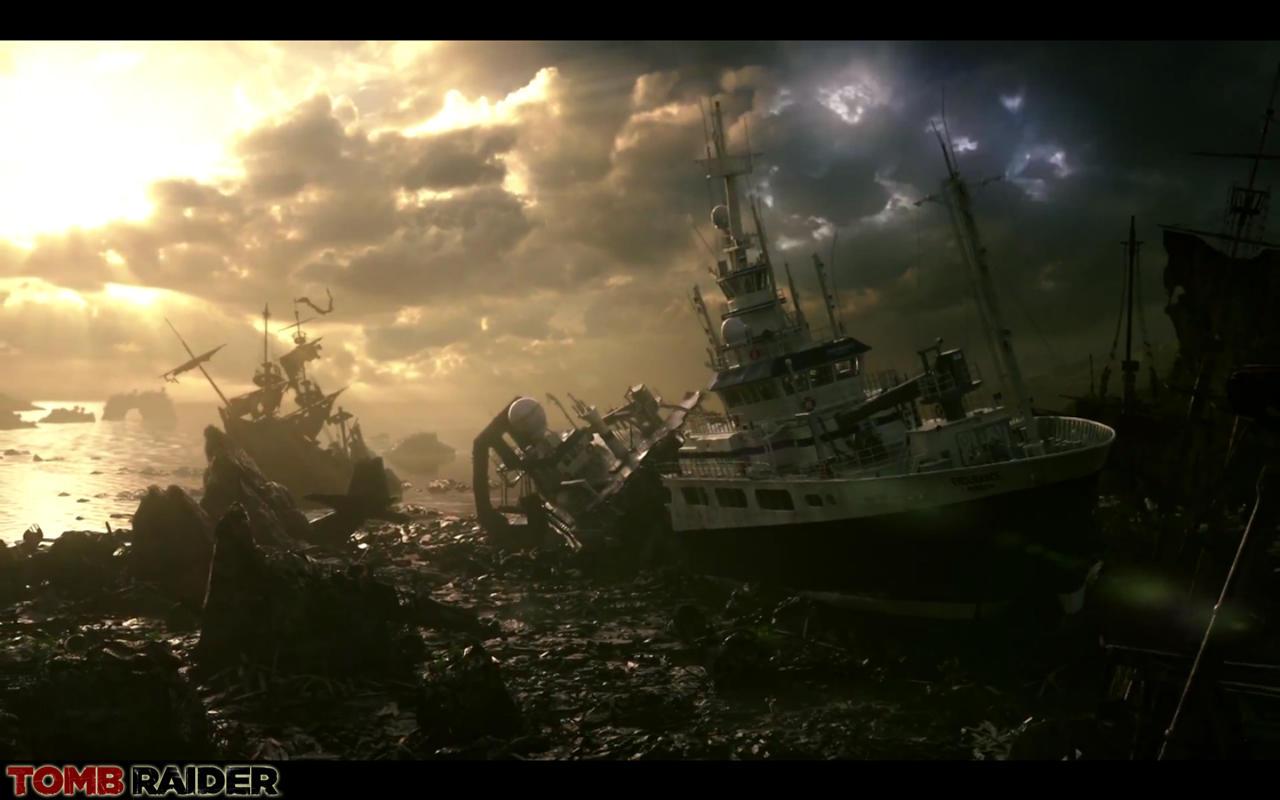 Tomb Raider 2012 Shipwreck by Rabbidry on DeviantArt
