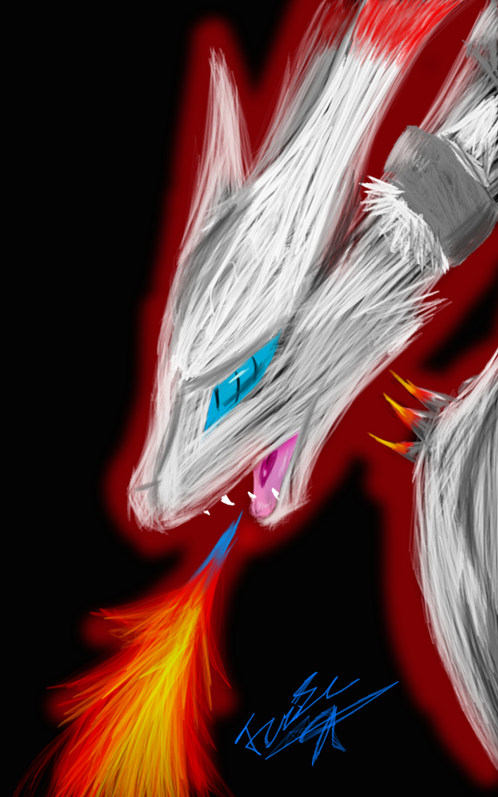 Reshiram Join.Me doodle by FireclawandIceclaw