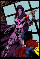 Bat Girl Page 2 Pencil Marcio-Abreu Ink Fendiin Fl by carloscamposart