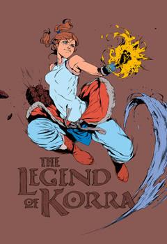 Legend of Korra By 2ngaw Flat Carlos-Campos