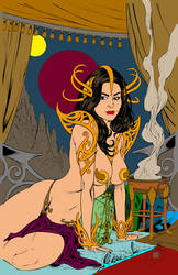 Dejah Thoris by carloscamposart