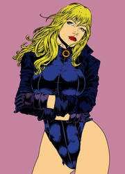 Black Canary by carloscamposart