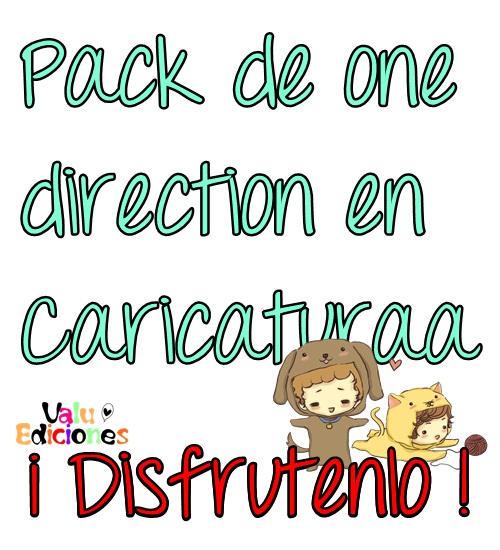 pack de one direction en caricatuura by valuediciones manga anime