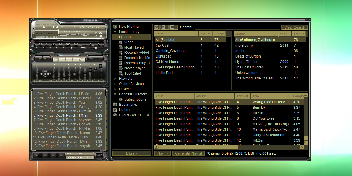 Zorg ii winamp shoutcast forums for Skin it fish skinner