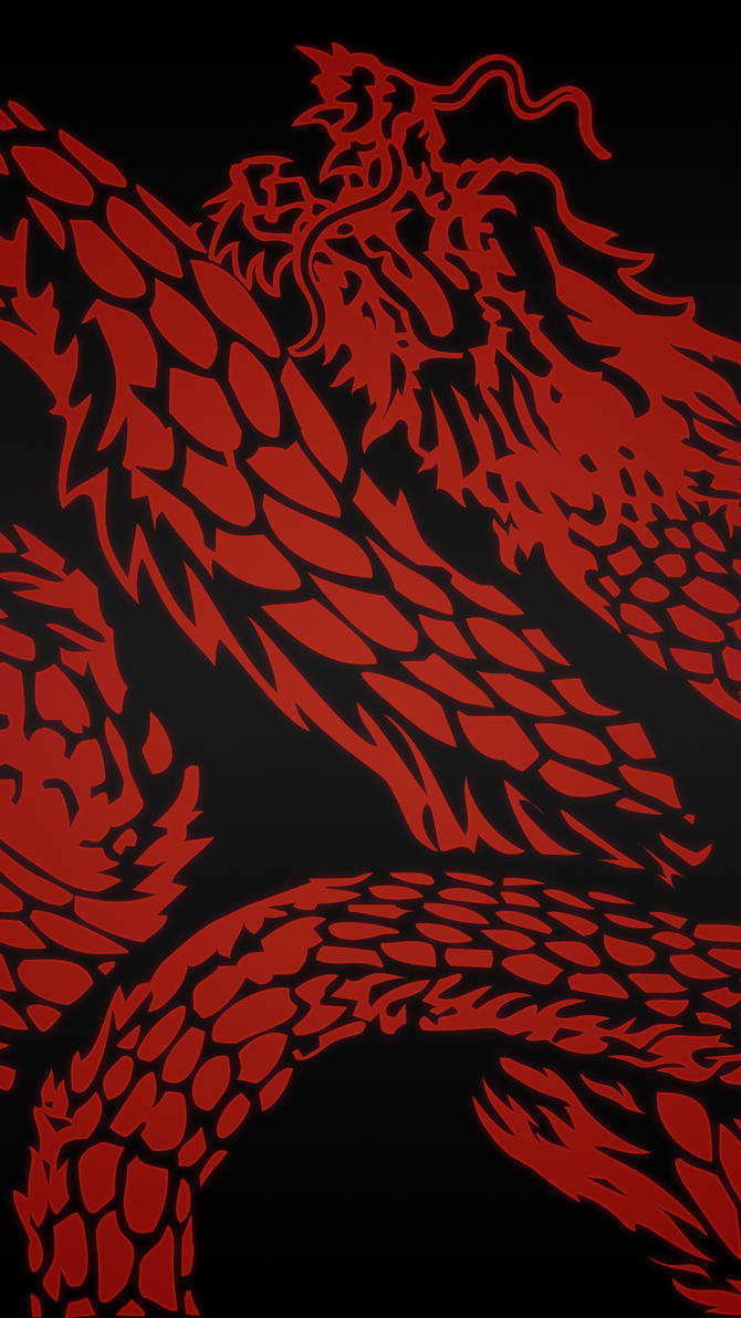 Sleeping Dogs Dragon Phone Wallpaper Red By Edfa