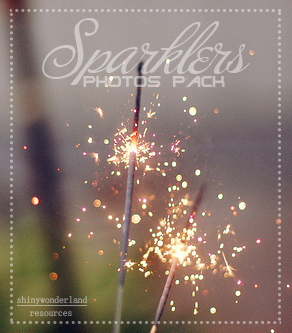 Sparklers-Photo Pack by shinywonderland