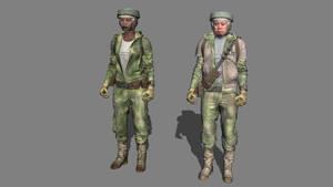 Rebel Soldiers Endor by andi1213