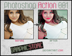 Photoshop Action 001 by graphicstore