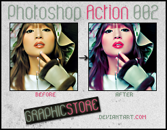 Photoshop Action 002 by graphicstore