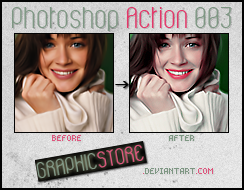 Photoshop Action 003 by graphicstore