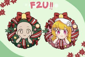 [F2U] Christmas Wreath Base