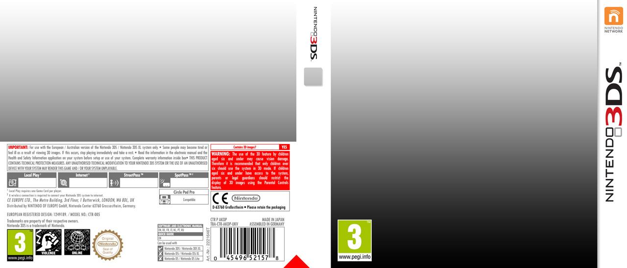 Nintendo 3DS Template by Casval-Lem-Daikun on DeviantArt