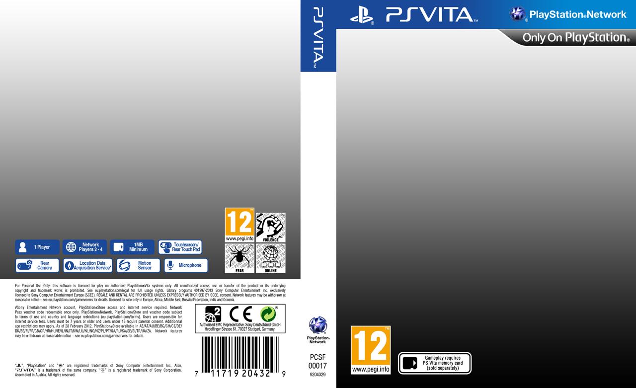 Playstation Vita European Template By Casval Lem Daikun On Deviantart