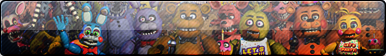 (ANIMATED) Five Nights At Freddy's FAN BUTTON