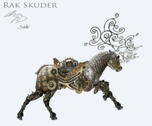 Mechanical Deer Run Cycle by RakSkuder