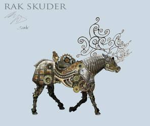Mechanical Deer - Walk cycle by RakSkuder