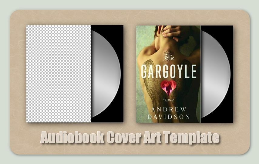 audiobook cover art template by mattmc3 on deviantart