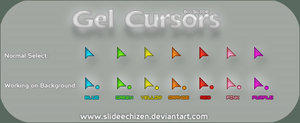Gel Cursors by spanish-deviants