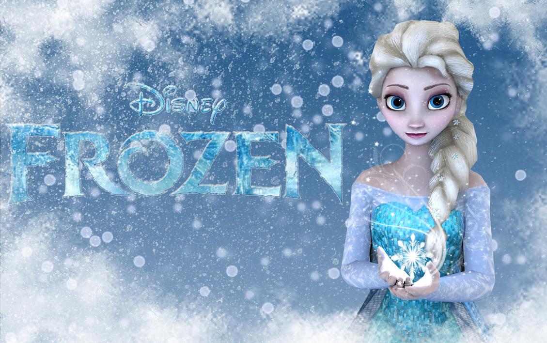Elsa from Frozen by Shyngyskhan