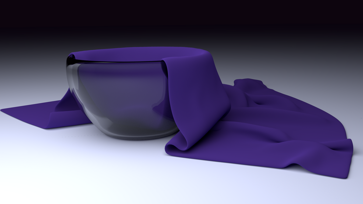 Cloth Simulation in Blender by Shyngyskhan