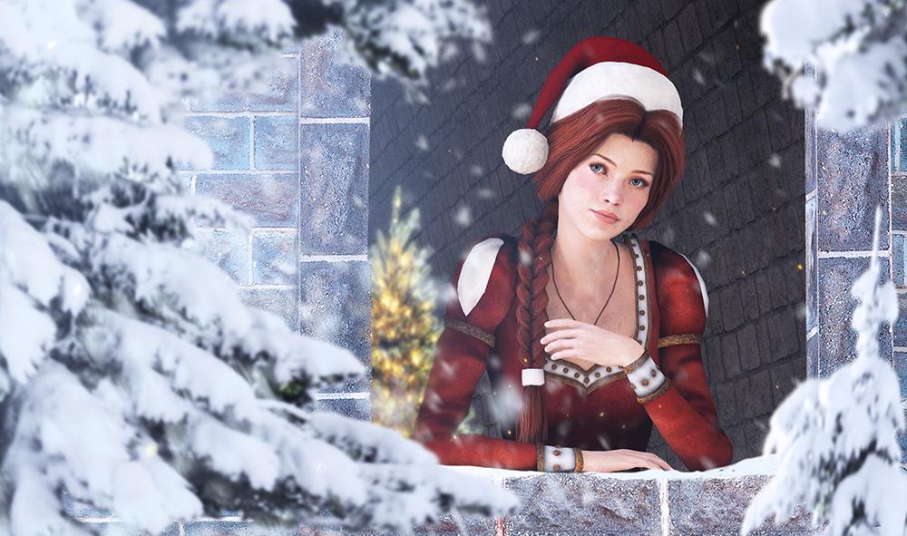 Princess Fiona Winter by Shyngyskhan