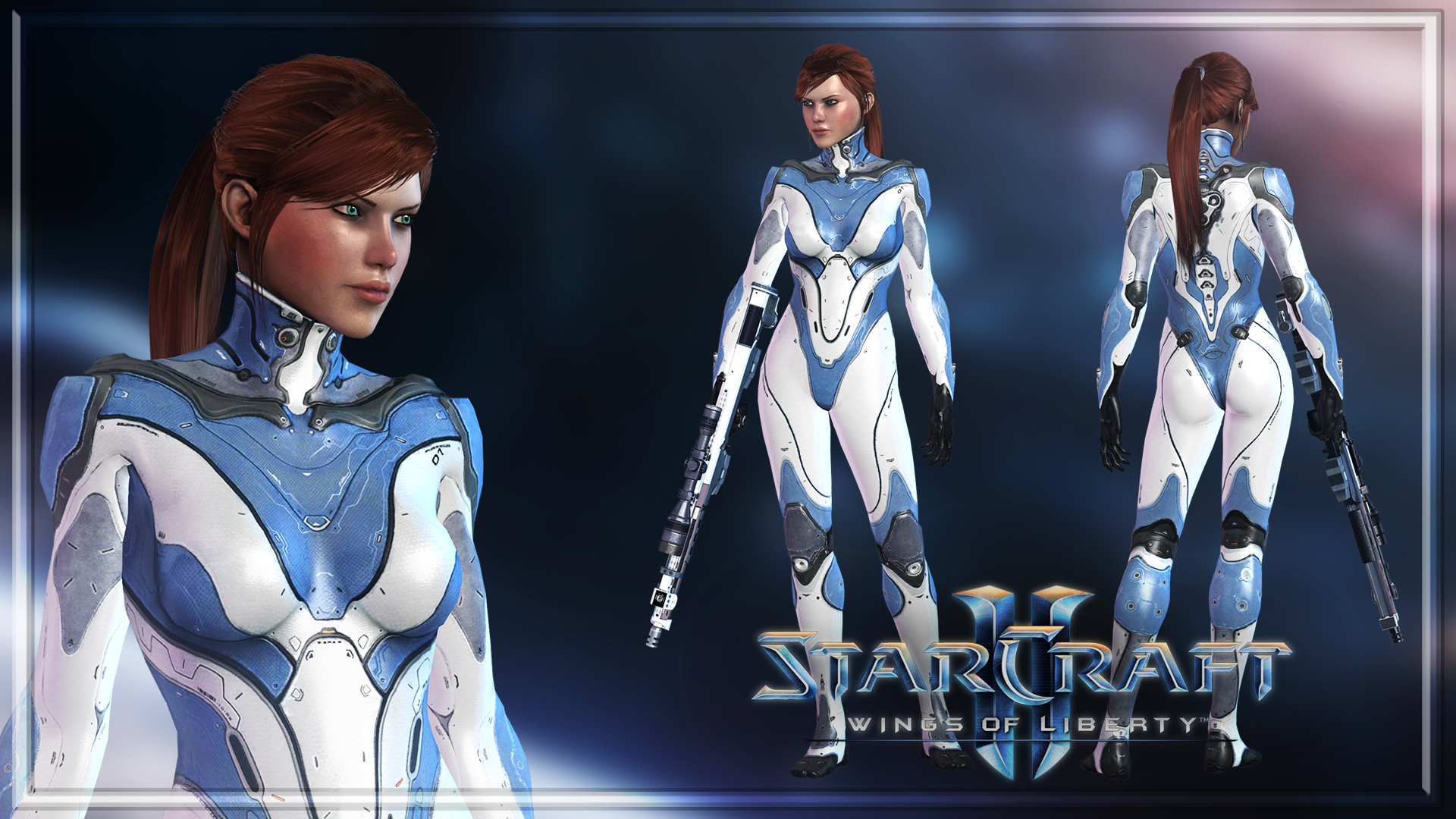 Starcraft Ii Sarah Kerrigan Human By Shyngyskhan On Deviantart