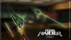 Tomb Raider Series - Takamoto's Staff by Shyngyskhan